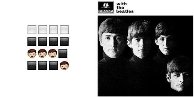 Музыкант воссоздал обложки классических альбомов из Emoji. Изображение № 7.