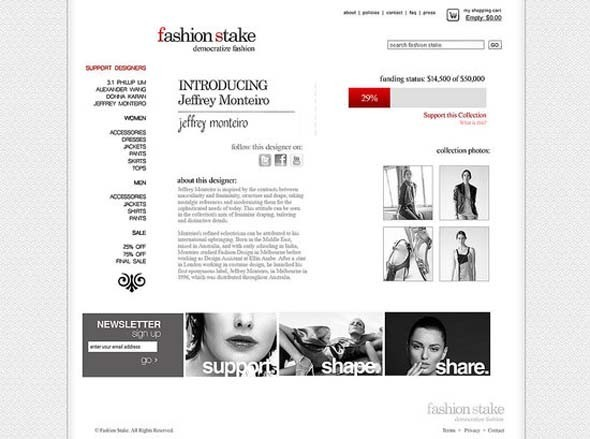 Демократизация моды: Fashion Stake. Изображение № 2.