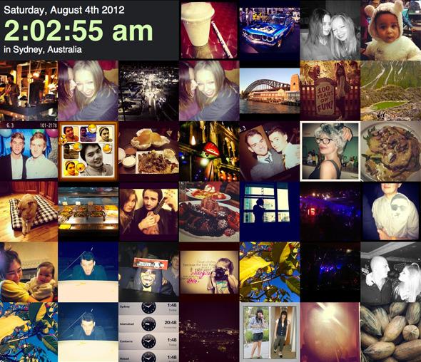 Instagram вместо камер слежения: Как живет мирв режиме реального времени . Изображение № 4.