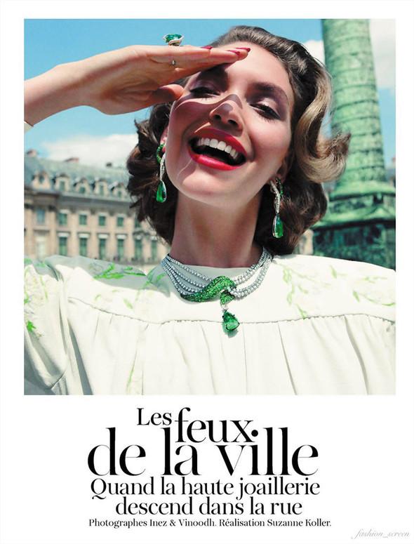 Съёмка: Аризона Мьюз для Vogue. Изображение № 1.