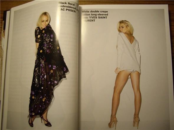Линдси Лохан для Purple Fashion Magazine (продолжение). Изображение № 12.
