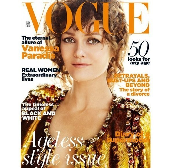 Изображение 6. Обложки Vogue: Британия, Франция и другие.. Изображение № 6.