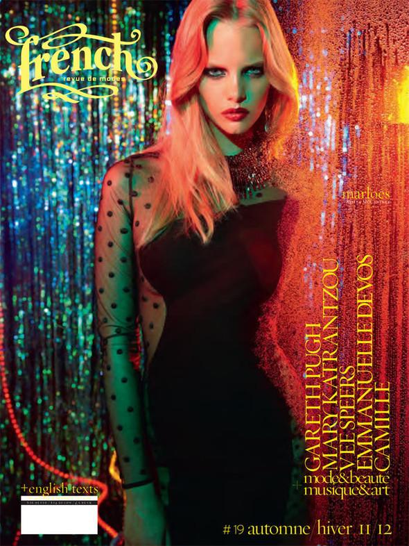 Обложки: Аджак Денг, Сабрина Нет, Шарлотта Фри и другие модели для French Revue De Modes. Изображение № 12.