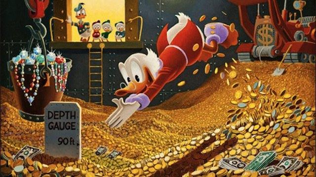 Forbes составил список самых богатых вымышленных персонажей. Изображение № 1.