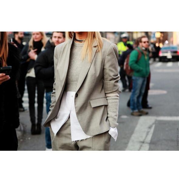 Изображение 34. На полях: 10 тенденций уличного стиля с прошедших недель моды.. Изображение № 34.