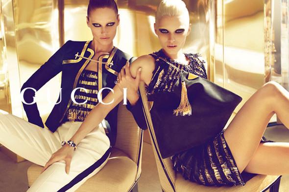 Кампания: Gucci SS 2012. Изображение № 4.