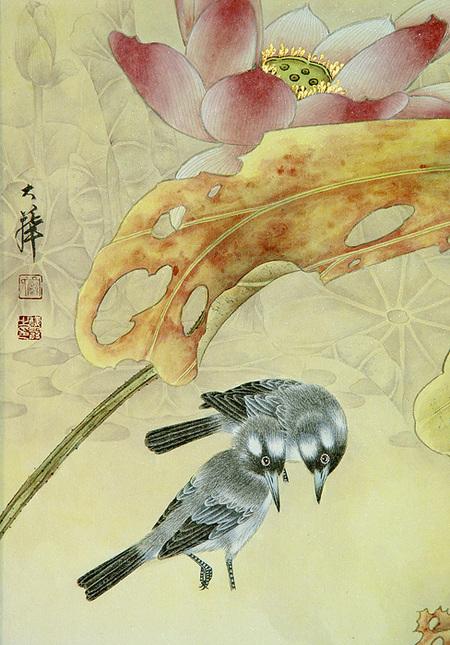 Птицы ицветы. Изображение № 4.