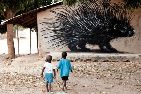Лучшие стрит-арт проекты 2011 года. Изображение №43.