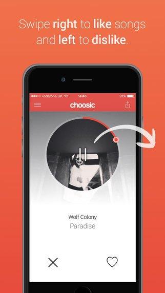 Появилось приложение в стиле Tinder для поиска музыки. Изображение № 1.