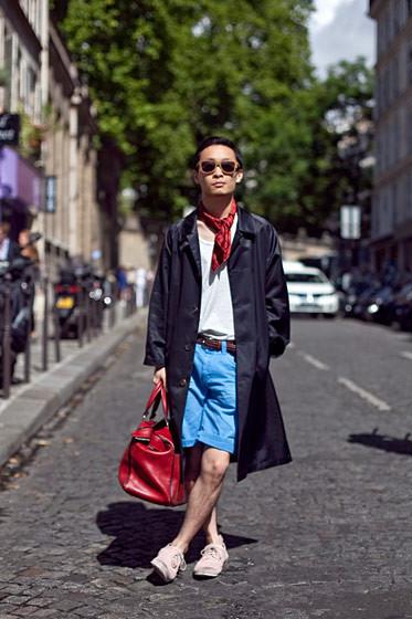 Уличный стиль на Неделе высокой моды в Париже. Изображение № 74.