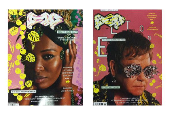 Изображение 2. Обложки: Numero, POP и Vogue.. Изображение № 2.