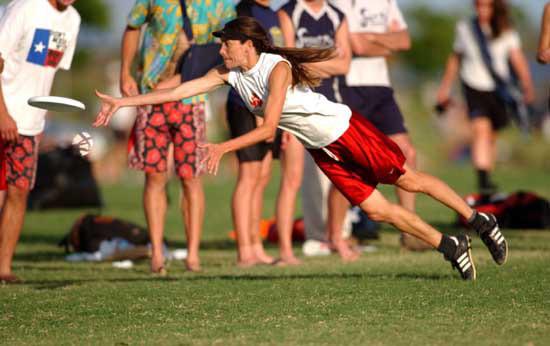 Летающие тарелки? (Ultimate Frisbee). Изображение № 7.