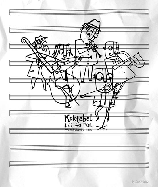 Изображение 74. Кастинг принтов для футболок SEKTA: Koktebel Jazz Fest.. Изображение № 74.