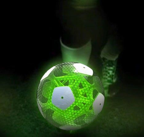 Мексиканские дизайнеры разработали футбольный мяч будущего. Изображение № 2.