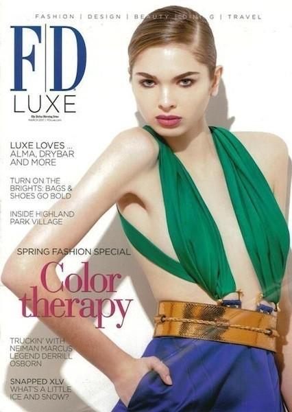 Коллекция Gucci SS 2011 появилась на 50 обложках журналов. Изображение № 22.