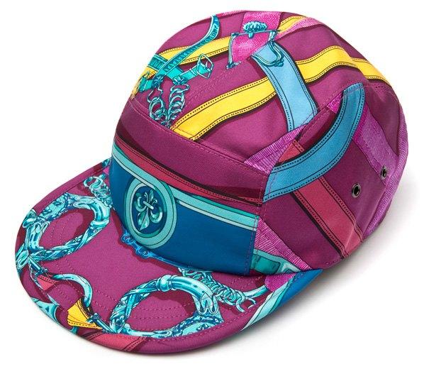 Géométrick создали кепки из платков Celine и Hermes. Изображение № 5.