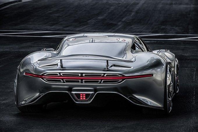Mercedes-Benz разработала концепт спорткара для новой части Gran Turismo. Изображение № 9.