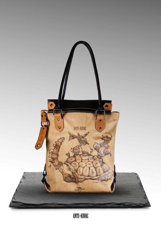 Как создавался бренд. Ante Kovac - сумки с картинками. . Изображение № 4.