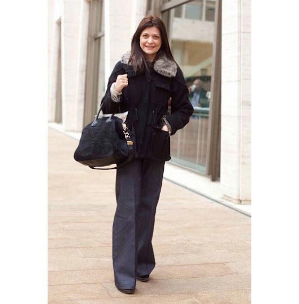 Изображение 147. На полях: 10 тенденций уличного стиля с прошедших недель моды.. Изображение № 147.