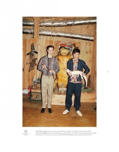 Мужские лукбуки: Barneys, Dior Homme, Opening Ceremony и Pierre Balmain. Изображение № 14.