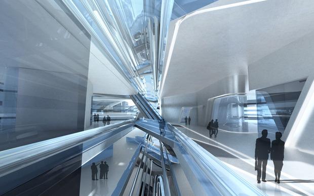 Заха Хадид проектирует университет дизайна в Гонконге. Изображение № 4.