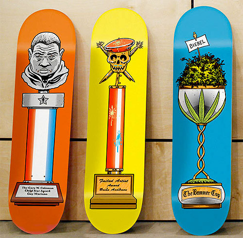 К доске: 10 художников-скейтбордистов. Изображение №94.