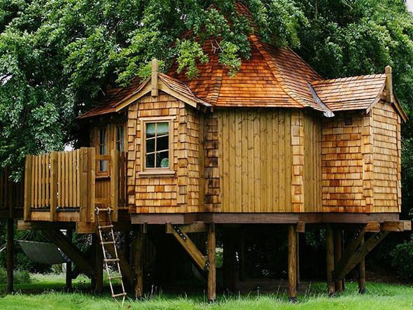 Дома надеревьях отAmazon Tree Houses. Изображение № 5.