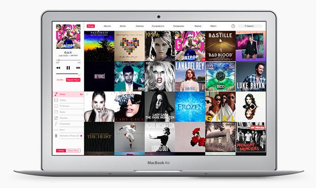 Представлен концепт глобального редизайна iTunes. Изображение № 2.