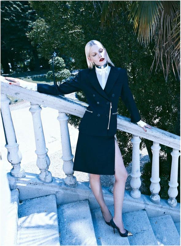 Съемки: Numero, Vogue, W и другие. Изображение №32.