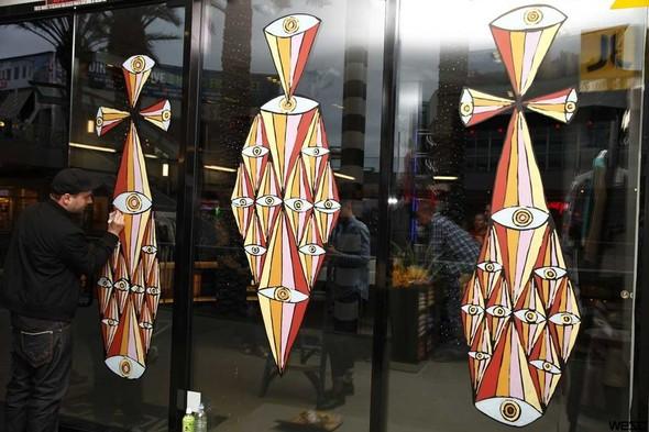 Узоры на окнах в Санта Монике. Изображение № 8.