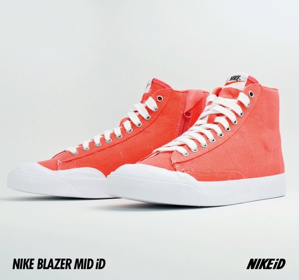 Nike X Liberty Summer Collection/  Blazer Mid iD.. Изображение № 17.