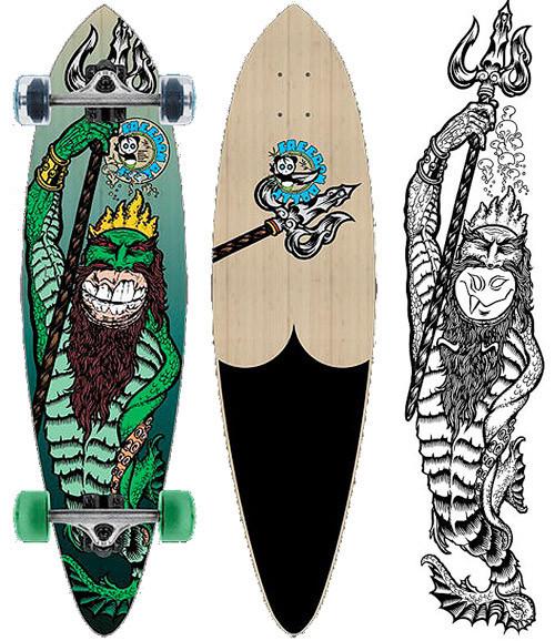 К доске: 10 художников-скейтбордистов. Изображение №84.