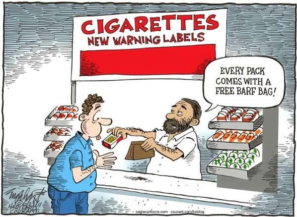 Минздрав рисует: художники об устрашающих картинках на пачках сигарет. Изображение № 2.
