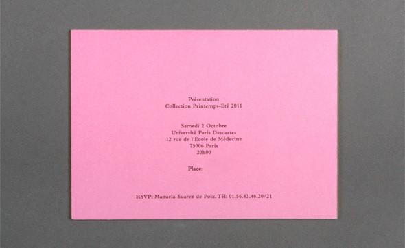 Изображение 36. Womenswear collections S/S 2011: show invitations.. Изображение № 36.