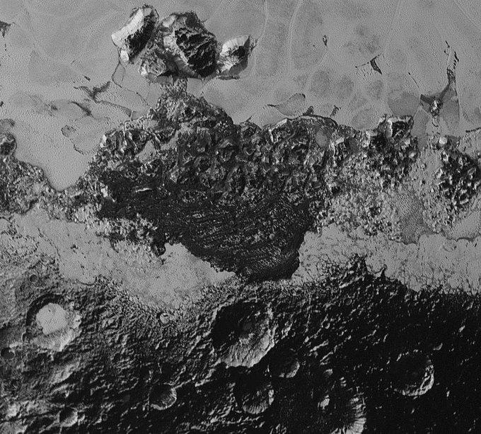 New Horizons передал новые фото Плутона . Изображение № 5.