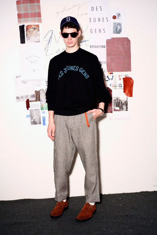 Показаны новые лукбуки Kris Van Assche x Lee, Soe, DISCOVERED. Изображение № 13.