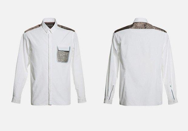 Одежда японского дизайнера защитит от соцсетей. Изображение № 2.