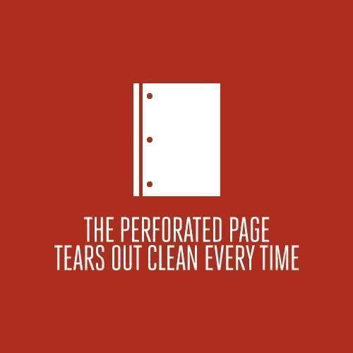 Перфорированные странички всегда отрываются ровно. Изображение № 13.
