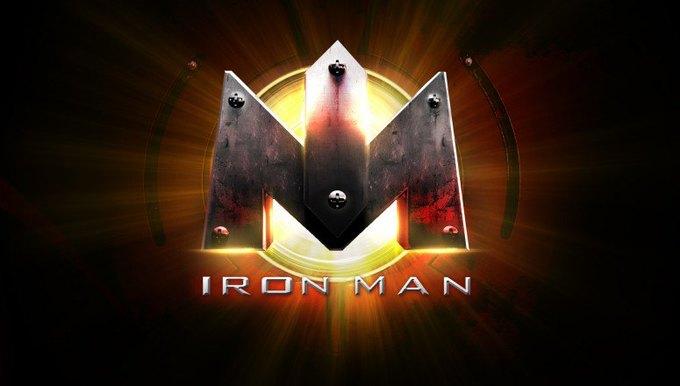 Художник показал варианты логотипа «Железного человека» . Изображение № 7.
