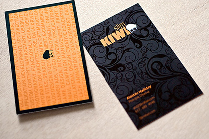 70 Нетривиальных визиток. Изображение № 43.