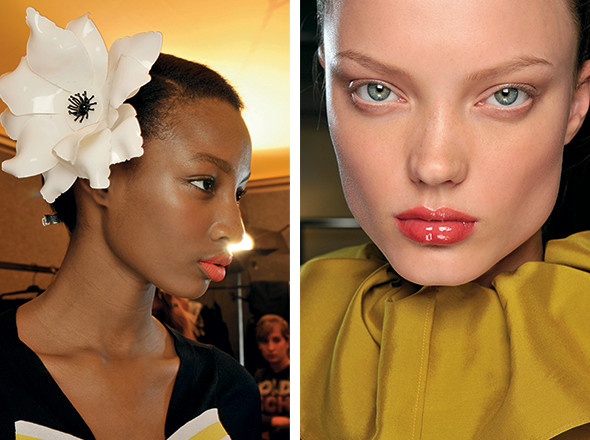 Изображение 19. Красная стрела: тенденции макияжа SS 2011.. Изображение № 4.