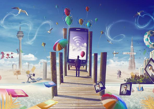 Секреты дизайна фантастических миров от Mr. Xerty . Изображение № 7.