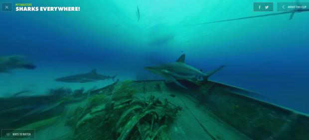 Discovery запустил сайт с видео для виртуальной реальности. Изображение № 1.