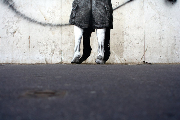 Стрит-арт от французкой команды Murmure - Artisme. Изображение № 4.