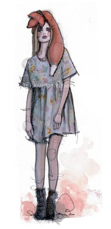Kathryn Elyse. Fashion Illustrations. Изображение № 10.