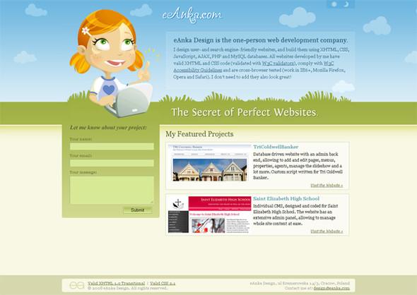 Персонажи в дизайне сайтов. Изображение № 7.