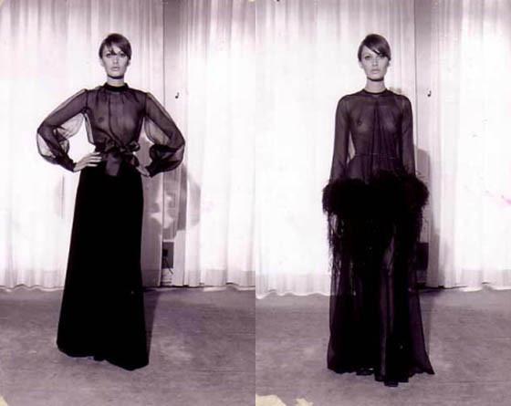 Архив: коллекции Yves Saint Laurent 1962-1999. Изображение № 8.
