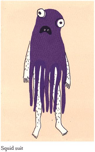 Sarah Knight иллюстратор изHonest Four. Изображение № 2.