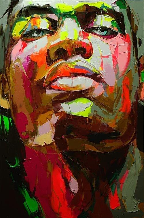 Красочные портреты Франсуазы Нилли. Изображение № 7.
