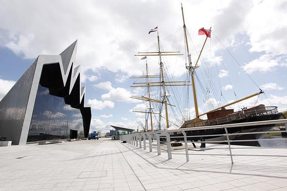 Изображение 3. Музей транспорта Glasgow Riverside от Zaha Hadid.. Изображение № 3.